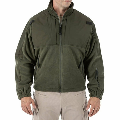 5.11 Tactical Tactical Fleece Waterproof Jacket Sheriff Green