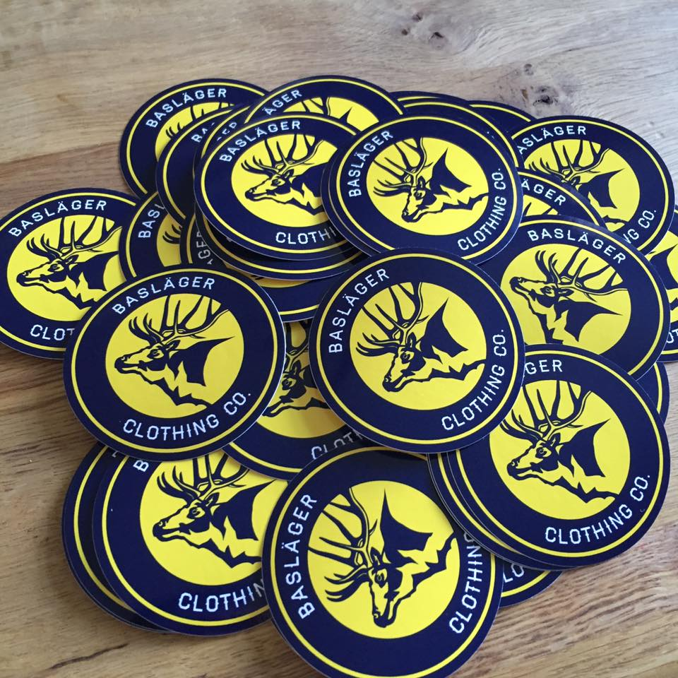 x6 LOGO STICKERS