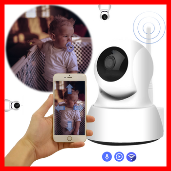 Pikibuy™ Wifi Baby Monitor Camera Wireless Video with Two-Way Audio and App