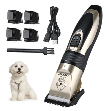 PikiPet™ Dog Hair Clippers Professional Pet Grooming Trimmer USB Rechargeable Kit