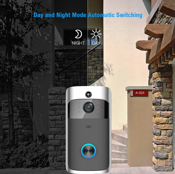 Wireless Doorbell Camera Video Wifi to Phone with 2-way Audio Intercom