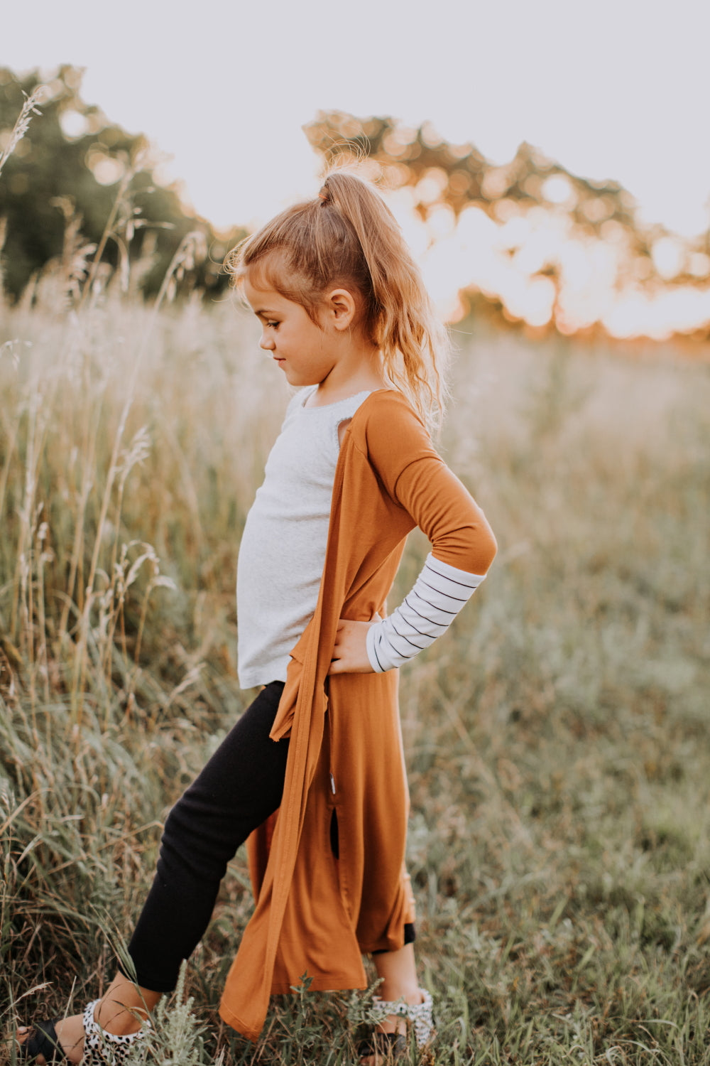 The Claire Cardigan - Caramel