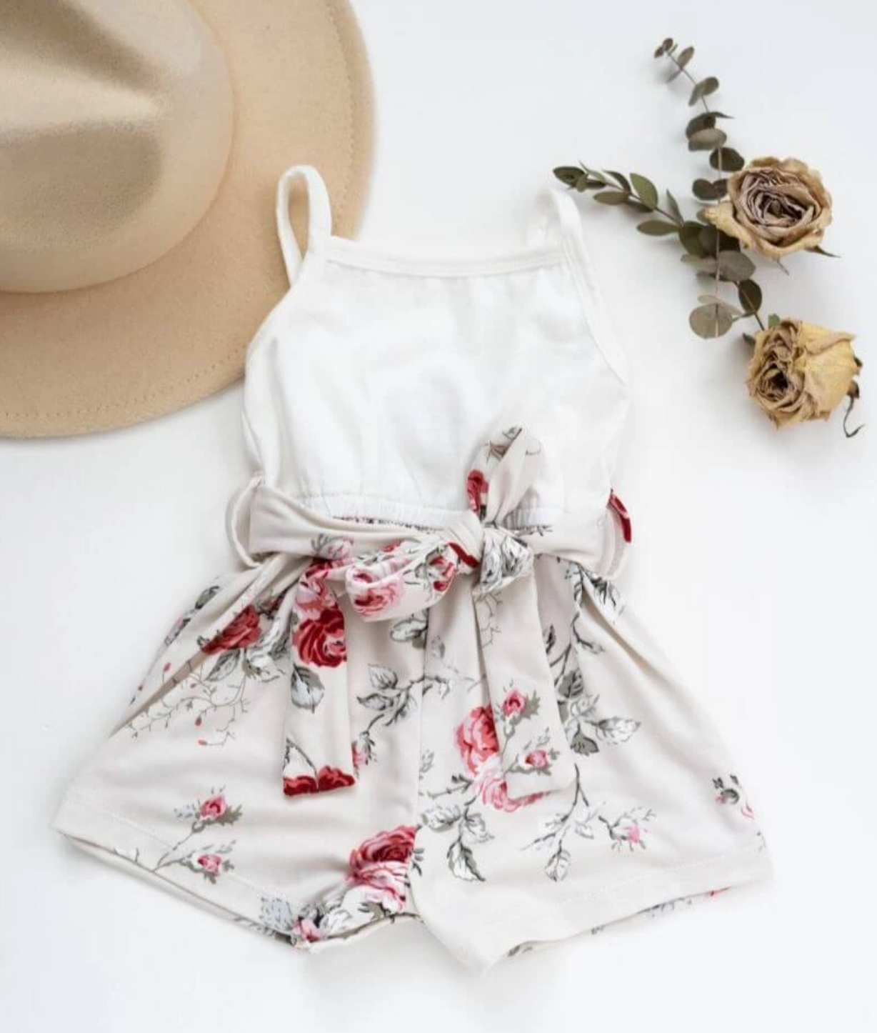 Blanche Floral Romper
