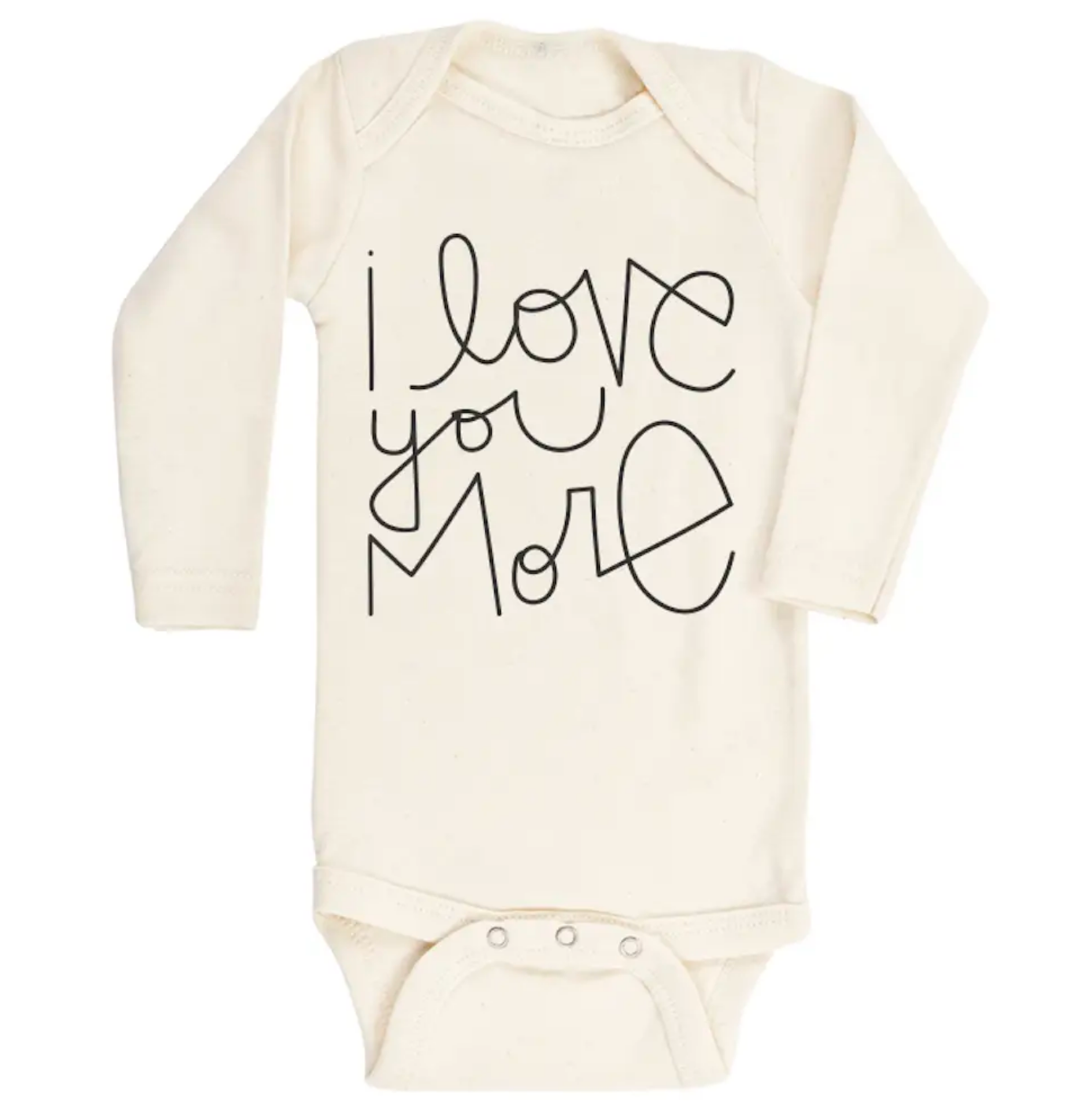 I Love You More - Long Sleeve Bodysuit
