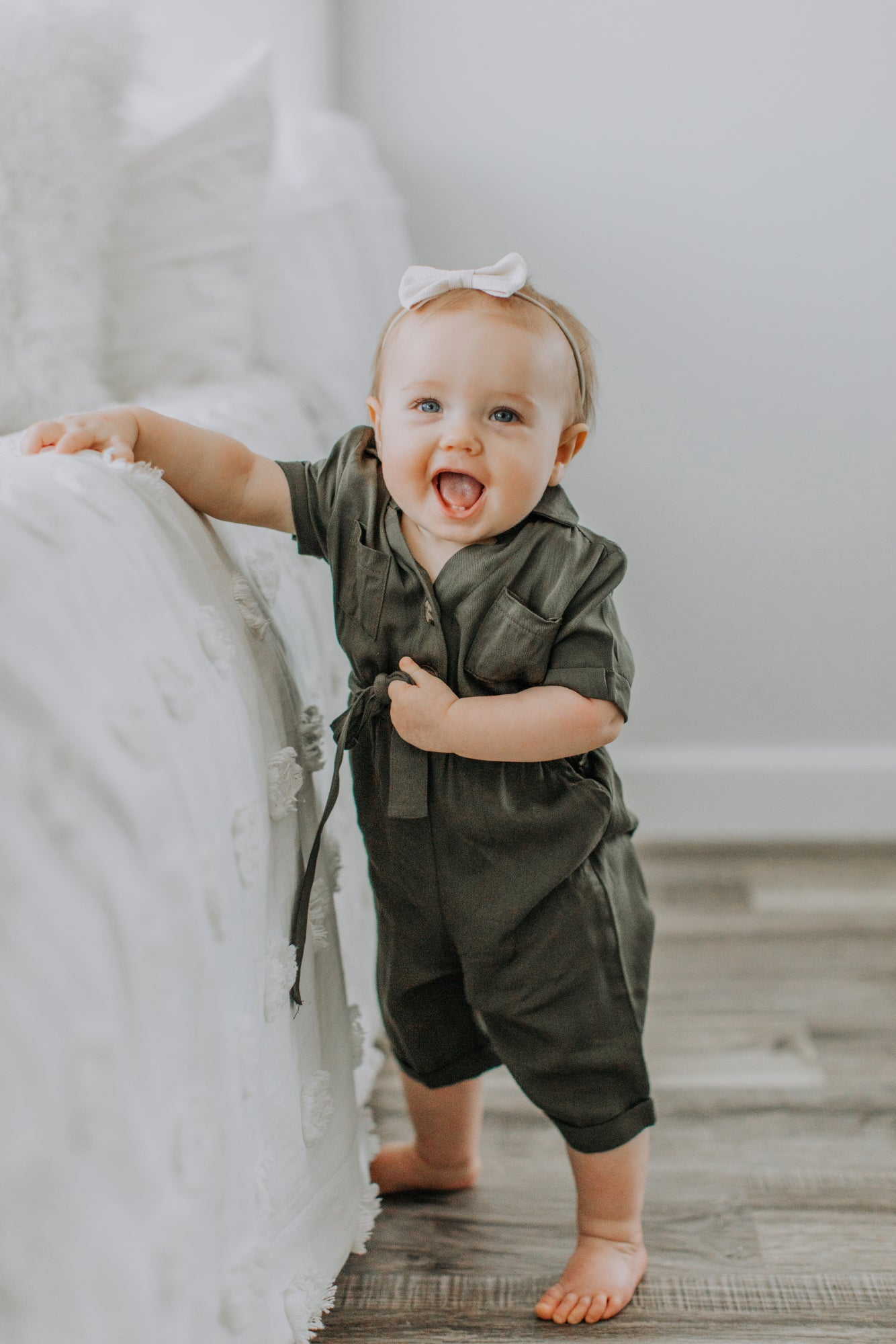 Harper Jumpsuit - Forest Green
