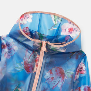Joules® Girls Raindance Clear Rain Jacket