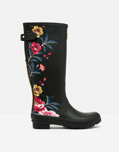 Joules® Black Floral with Gussett