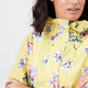 Joules® Yellow Floral Waterproof Rain Jacket