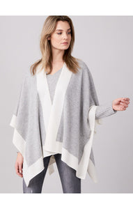 Two Toned 100% Cashmere Wrap