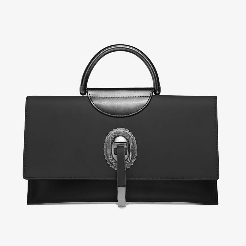 Leather Big Handbag - Fitiny