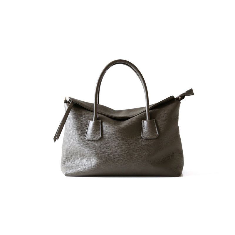 Leather Tote Commuter Bag - Fitiny