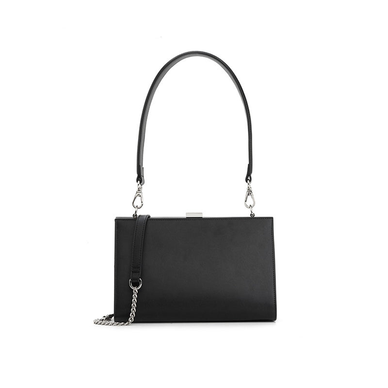 Leather Handbag Three Colors - Fitiny