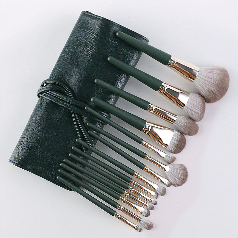 Makeup Brushes 14 PCs Makeup Brush Set Premium Synthetic Foundation Brush Blending Face Powder Blush Concealers Eye Shadows Make Up Brushes Kit
