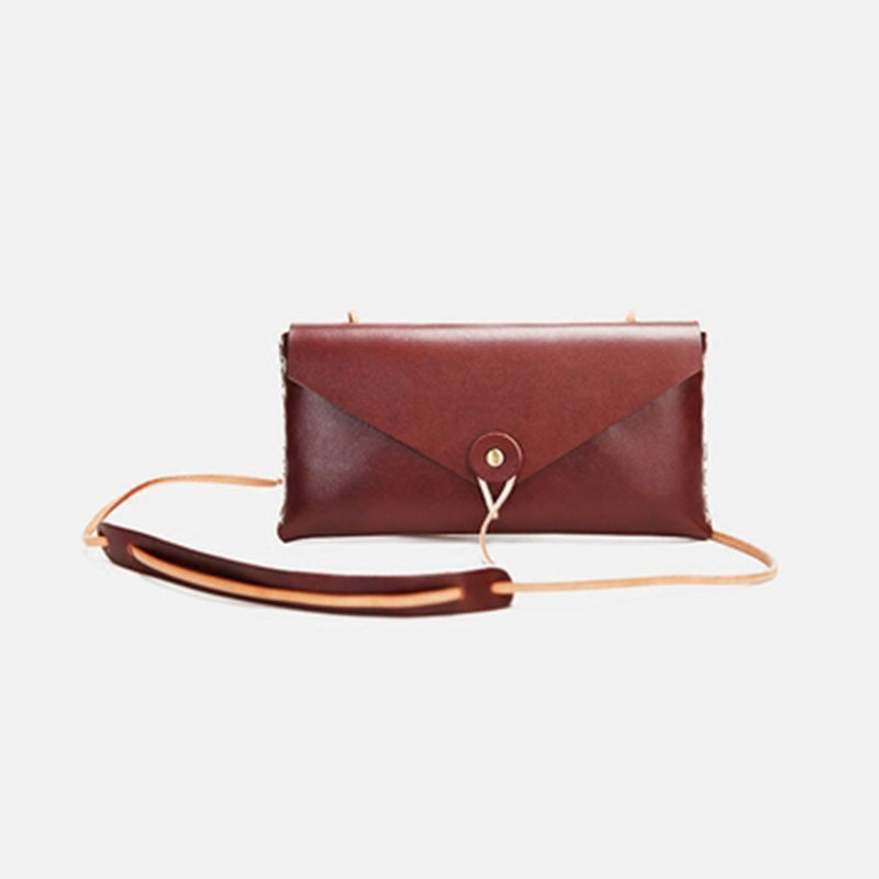 Handmade Crossbody Leather Bag - Fitiny