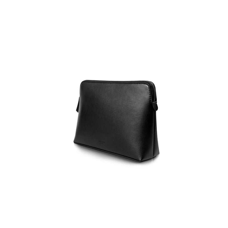 Leather Tote Shoulder Bag Black - Fitiny