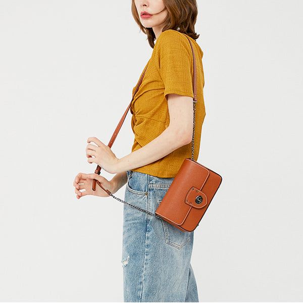 Leather Shoulder Bag Fashion - Fitiny