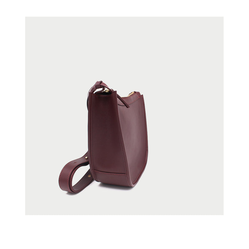 Leather Crossbody Bag - Fitiny