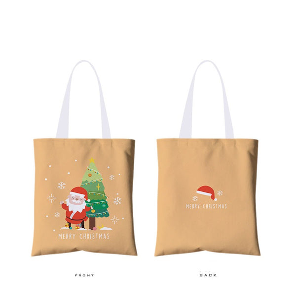 Christmas Tote Canvas Bag 13.78*15.75inch
