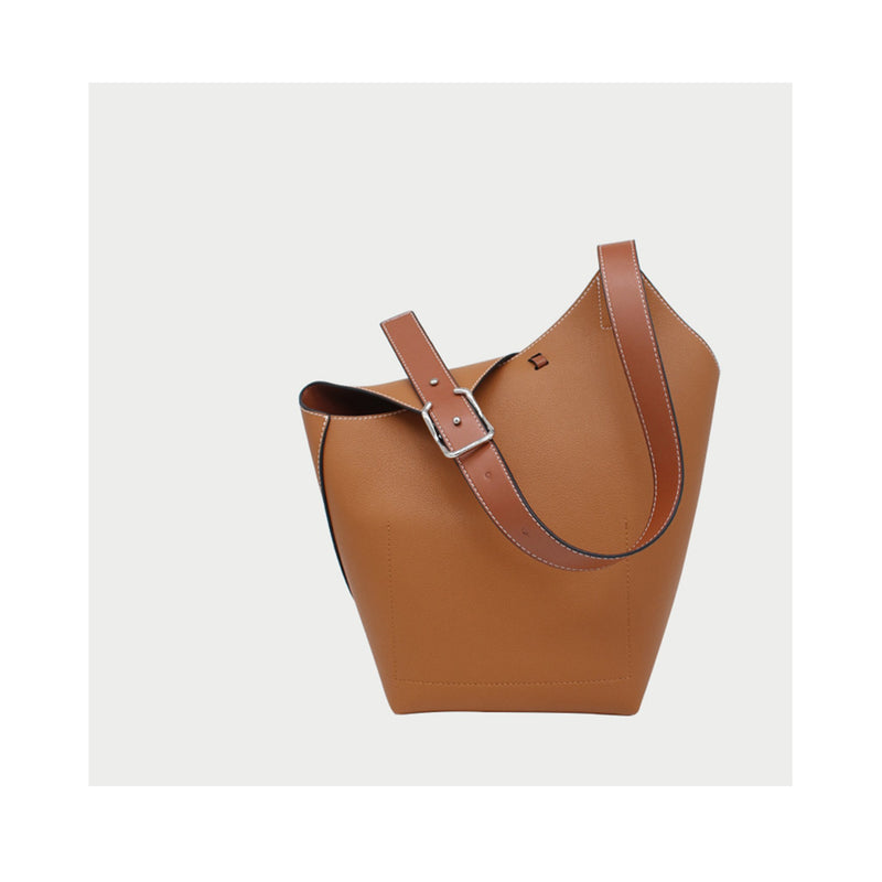 Leather Tote Shoulder Bag - Fitiny
