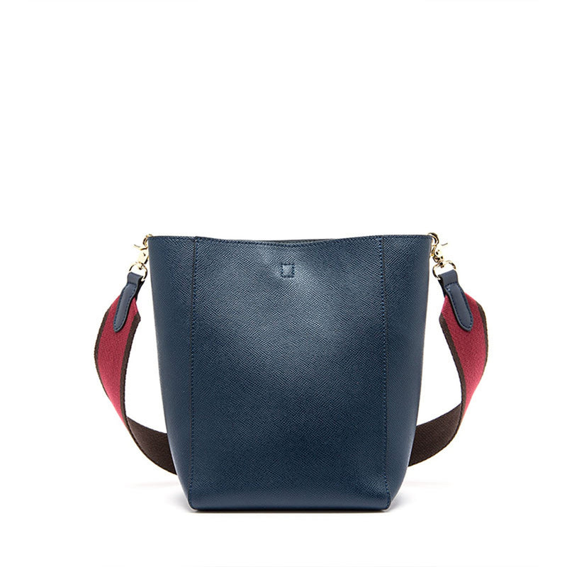 Tote Leather Bucket Bag