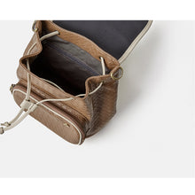 Load image into Gallery viewer, Leather Backpack Crossbody bag