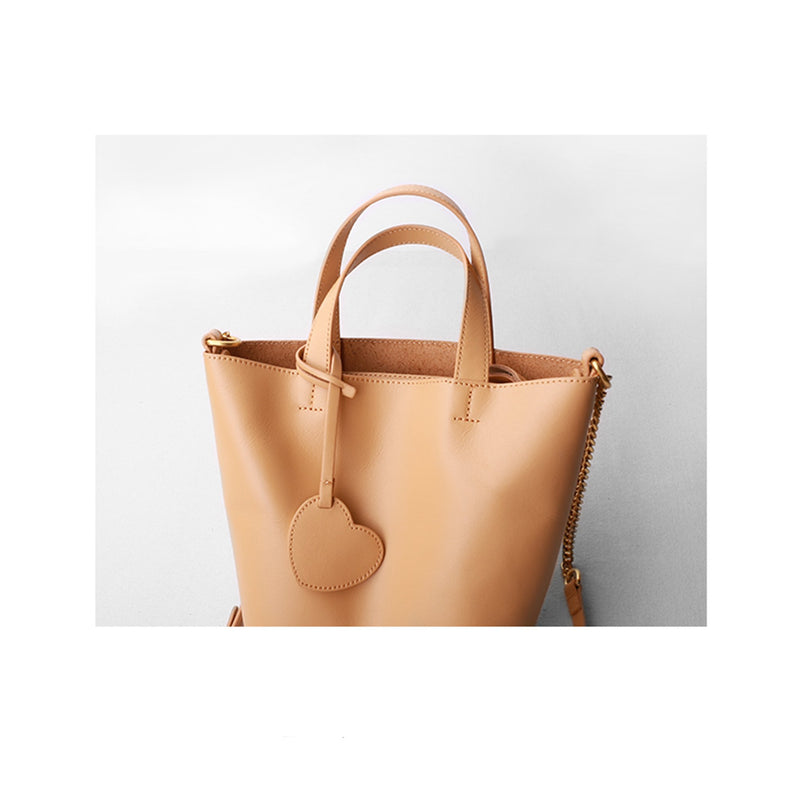 Leather Tote Bag Purse - Fitiny