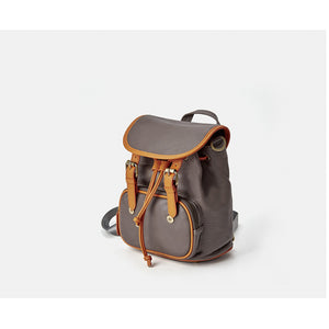 Leather Backpack Crossbody bag