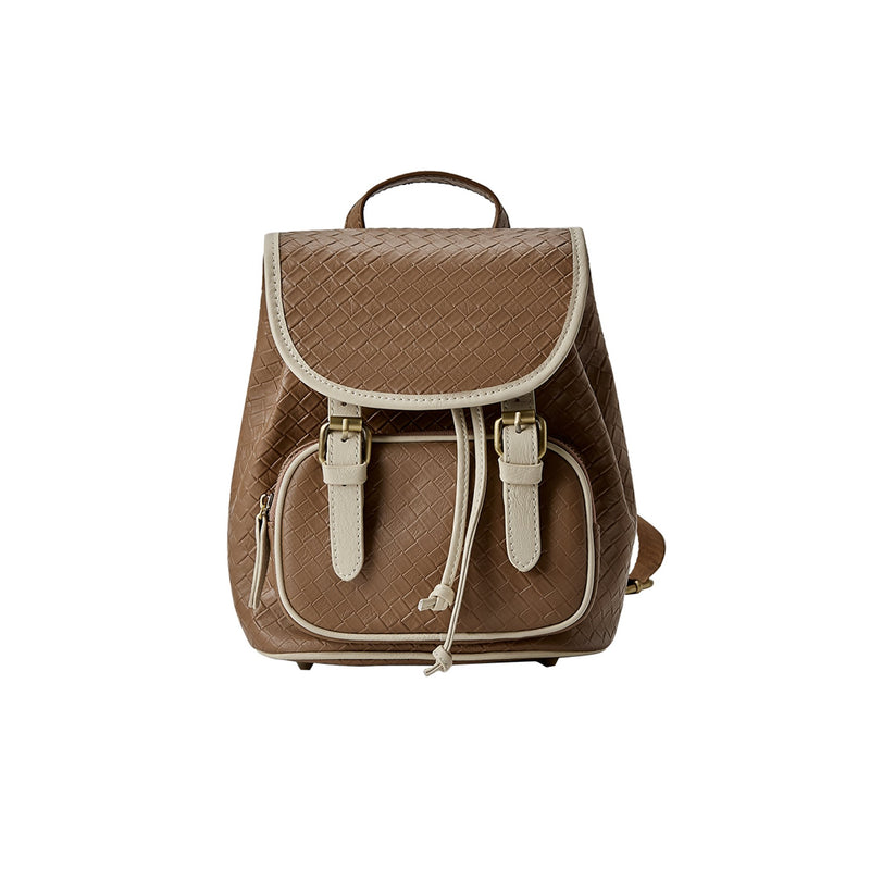 Leather Backpack Crossbody bag - Fitiny