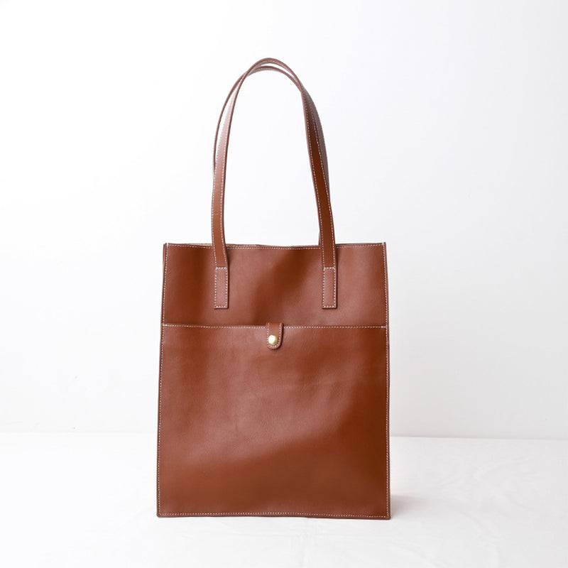 Leather Tote Bag Laptop Bag - Fitiny