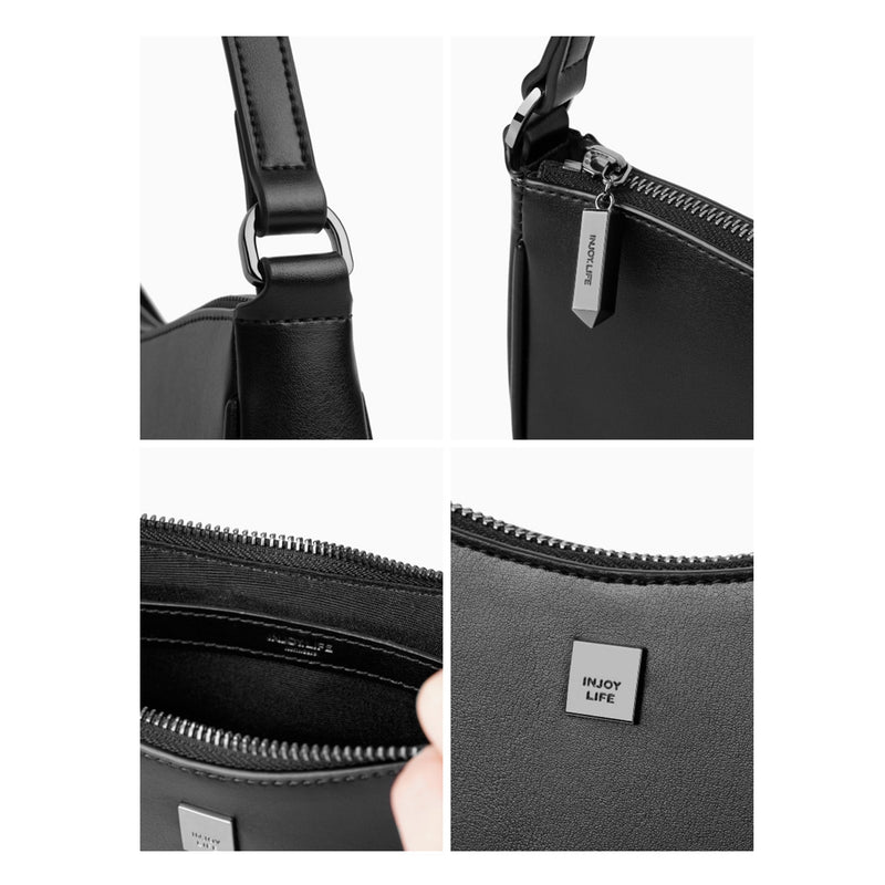 Leather Handbag Shoulder bag - Fitiny