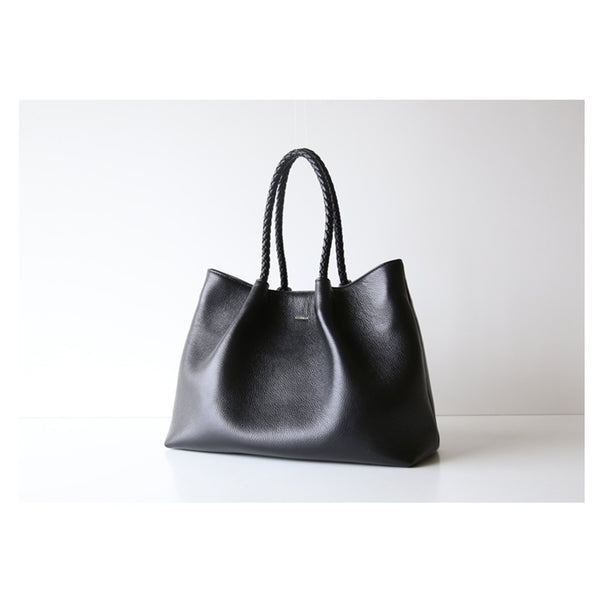Leather Tote Handbag - Fitiny