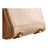 Handmade Mini Leather Messenger Dual-use Bag - Fitiny