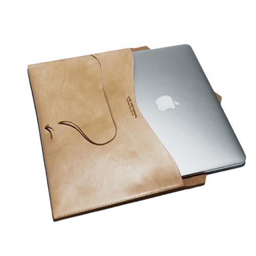 Handmade Leather Laptop Case - Fitiny