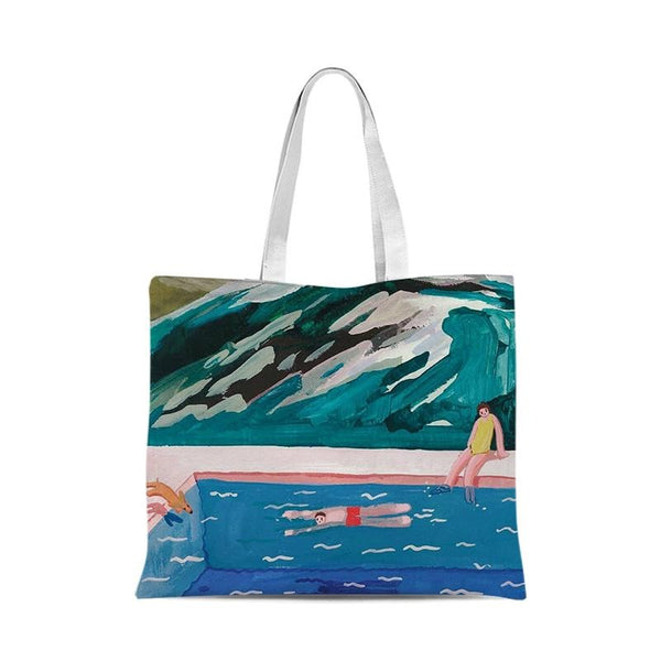 Art One Shoulder Canvas Bag 30*35cm