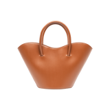 Vase Tote Bag/Large Capacity Handbag-Brown