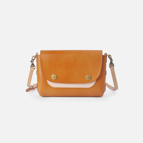 Leather contrast small square handbag crossbody bags