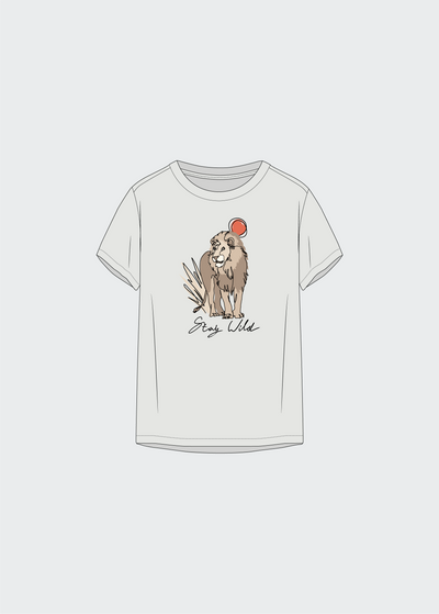 W - Stay Wild - Lion - T-Shirt