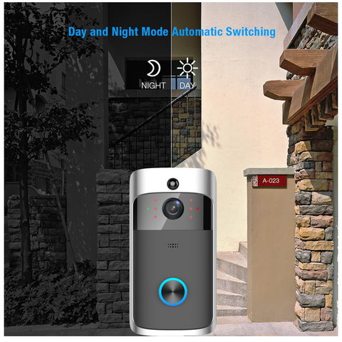 Wireless Video Doorbell with monitor