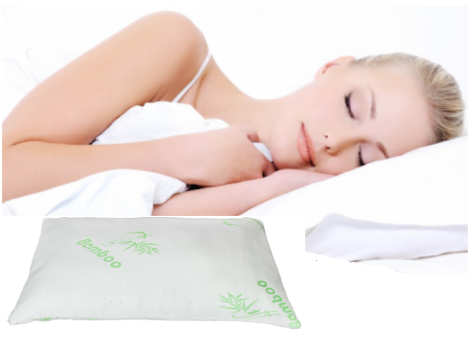 AKIYA™ Bamboo Memory Foam Pillow King Size Foam Pillow Best Bamboo Memory Foam Pillow