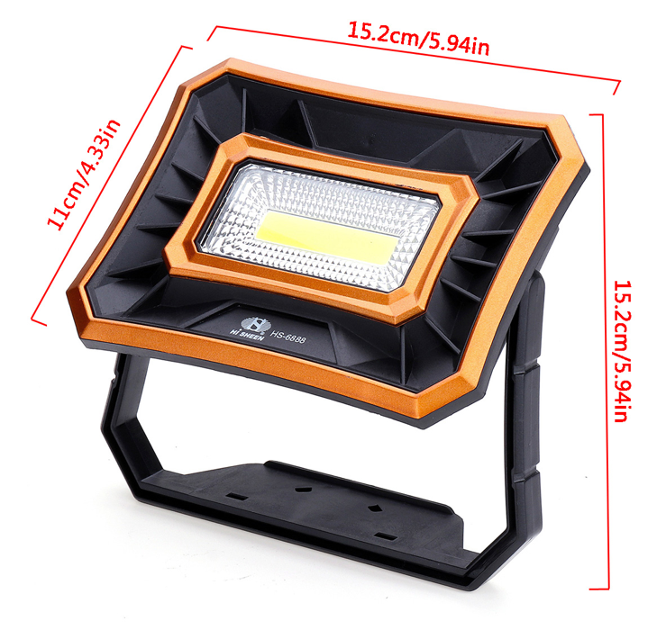 Xmund Solar LED Waterproof Floodlight Outdoor Emergency Lantern