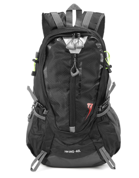 RockX™ 40L Backpack Waterproof Nylon Unisex Sports or Travel Rucksack