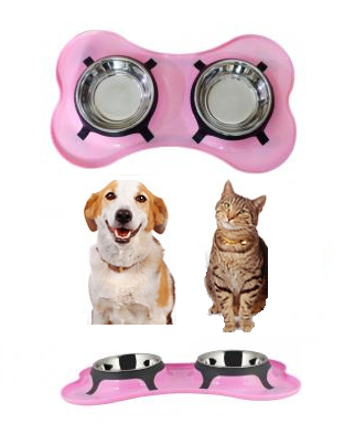 Boomer N Chaser Dog Bowls Dog Water Bowl Double Pet Bowl