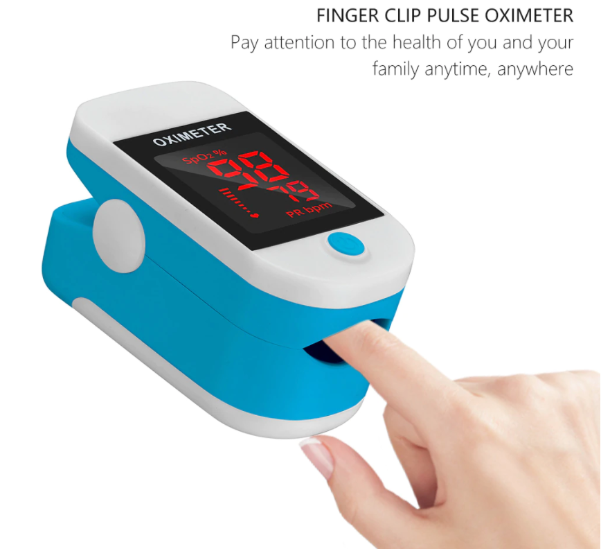 AKIYAPro™ SPO2 Finger Pulse Oximeter Oxygen Saturation Monitor Finger Oxygen Sensor Blood Oxygen Meter Best Infant Pulse Oximeter