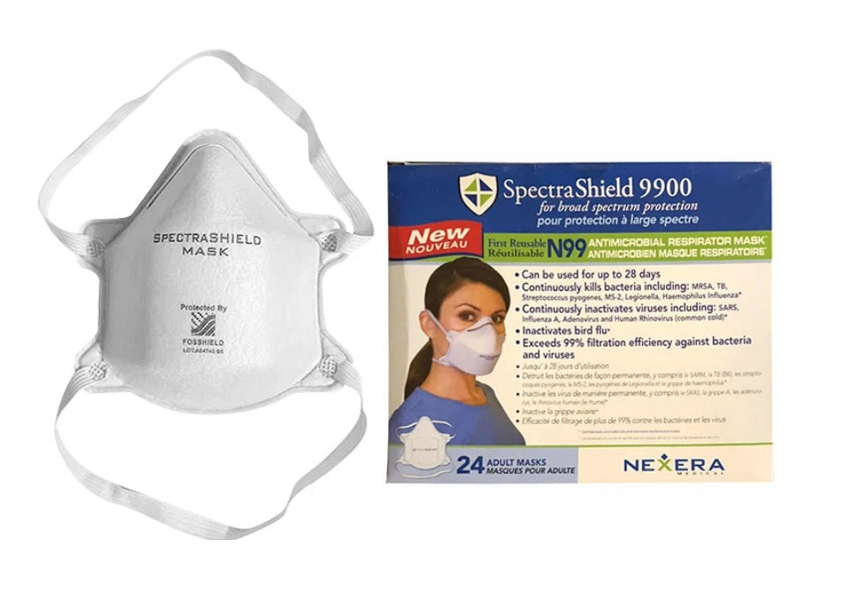 N99 Face Masks (20Pcs) For Broad Spectrum Respiratory Protection