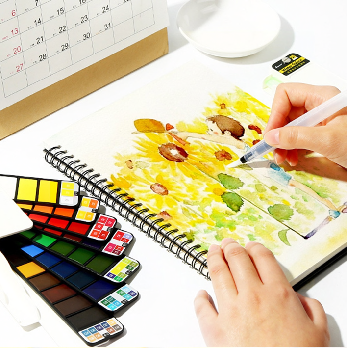 water color paint set