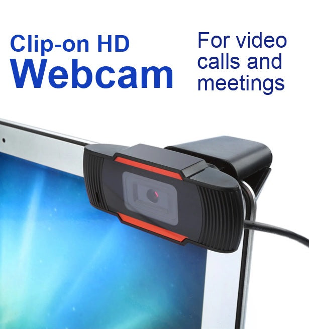 CAMZ™ USB 2.0 HD Webcam Camera Web Cam With Mic For Computer Laptop Desktop - 720P with POE