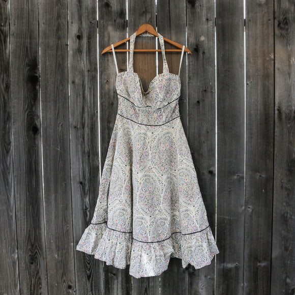 Anthropologie | Girls From Savoy | Halter Dress | Size 4