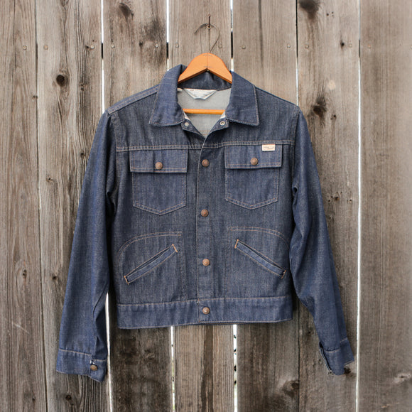 JCPenney Vintage Super Denim Jacket | Size Small