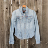 Guess Denim | Western Button Down | Women's Size Small