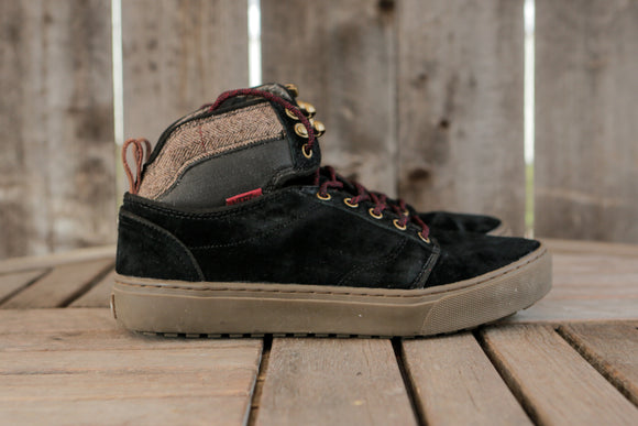 Van's | Black Suede Hikers | Women's Size 8